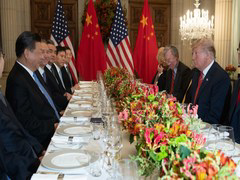 """I Think We Will Make A Deal"": Trump On US-China Trade"
