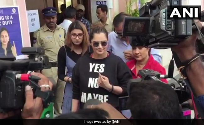 Sania Mirza, Chiranjeevi Up Star Power At Booths On Telangana Voting Day