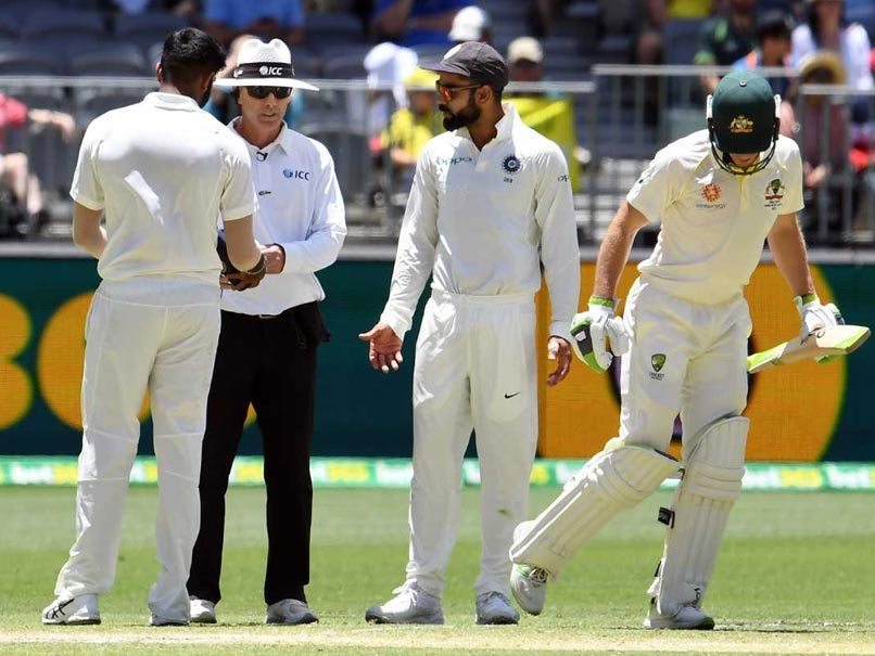 Australia captain Tim Paine has sledging spat with Kohli at second Test