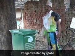"Man ""Dressed Up Like Dustbin"" A Head-Turner In Odisha. He Has A Message"