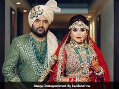 First Pic: Kapil Sharma Marries Ginni Chatrath In Jalandhar