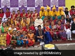 HRD Minister Prakash Javadekar Inaugurates Kala Utsav 2018