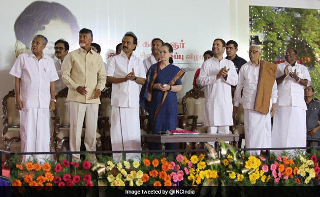 In MK Stalin's Message For 'Annai' Sonia Gandhi, Rich Praise For Congress