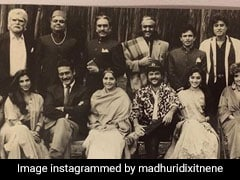 Madhuri Dixit Brings Back Nineties Nostalgia With <I>Ram Lakhan</I> Throwback Pic