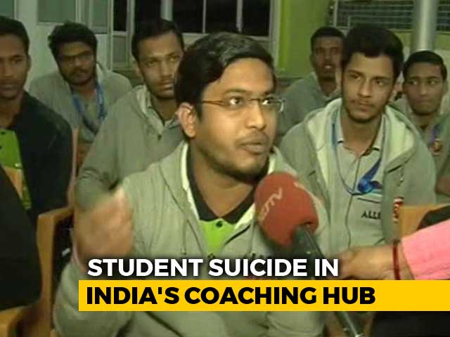 Video : 3 Student Suicides In Kota In 5 Days: What's Driving It?