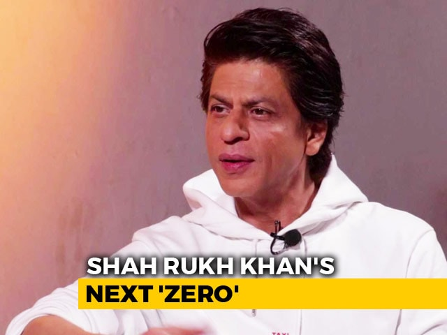 Video : Shah Rukh Khan On <i>Zero</i> And His Career Choices