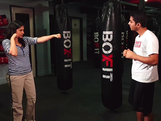 Video : Add A 'Punch' To Your Workout