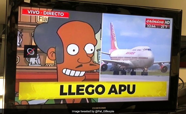 Argentine Channel Welcomes PM Modi With The Simpsons' Apu, Criticised