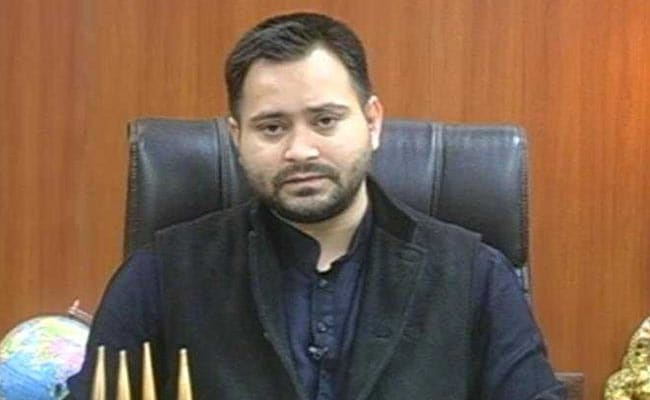 Grand Alliance Holds Protest March In Patna, Tejashwi Yadav Absent