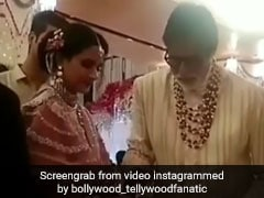 VIDEO: अमिताभ बच्चन ने परोसे ढोकले, तो आमिर खान ने मेहमानों को खिलाई चटनी, ईशा अंबानी की शादी में यूं की खातिरदारी