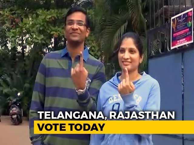 Video : In Last Of Mega 5-State Polls, Telangana, Rajasthan Vote Today