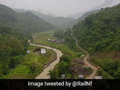 "Manipur Railway Bridge With 45 Tunnels To Soon Become ""World's Tallest"""