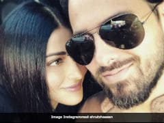 'You Make Me Laugh:' Shruti Haasan's Caption For Pic With Boyfriend Michael Corsale