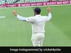 IND vs AUS: रोहित शर्मा आए बाउंड्री पर तो फैन्स बजाने लगे ढोल, ऐसे मनाया जश्न, देखें VIDEO