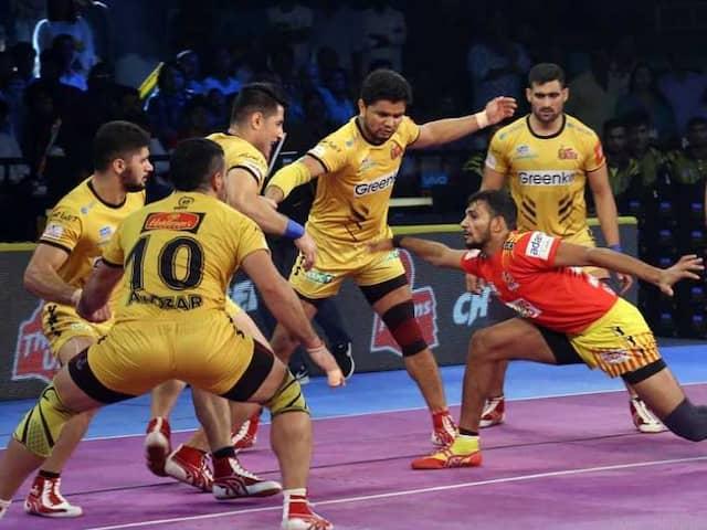 Pro Kabaddi League: Gujarat Fortunegiants Beat Telugu Titans 29-27 In A Nail-Biting Thriller