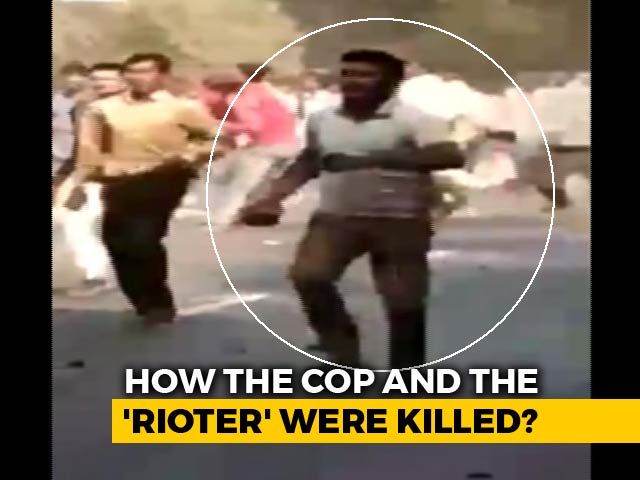 """Video : """"Maaro, Take His Gun,"""" Said UP Mob: Final Moments Of Inspector On Video"""