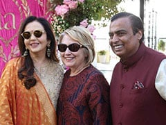 The Bachchans, Hillary Clinton, Salman And Aamir Khan Arrive In Udaipur For Isha Ambani And Anand Piramal's Pre-Wedding Festivities