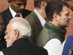 PM, Rahul Gandhi At Parliament Event After Poll Results, No Interaction