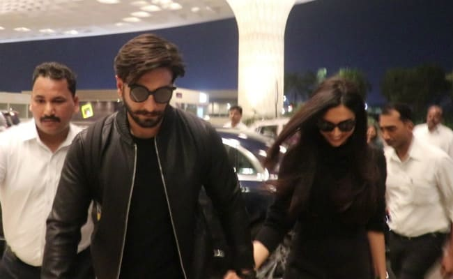 Deepika Padukone, Ranveer Singh Check Out Of Mumbai For Destination Honeymoon