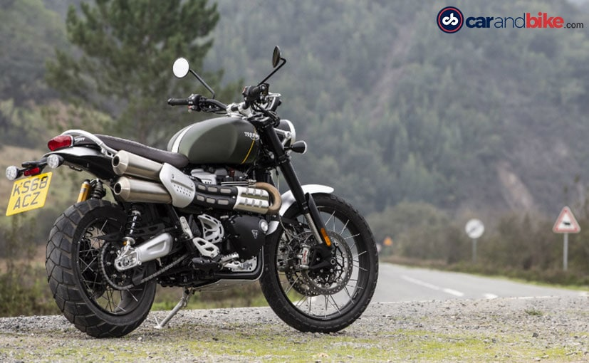 Triumph Scrambler 1200 Xc First Ride Review Ndtv Carandbike