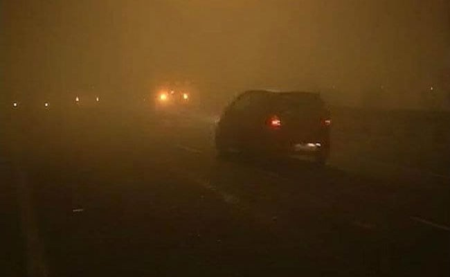 7 killed after vehicle collides with 2 suvs due to heavy fog on