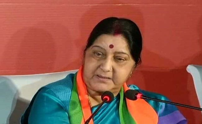 Sushma Swaraj Counters Congress' Allegation Of 'Diplomatic Disasters'