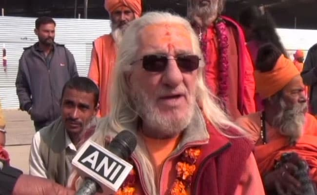 Meet The 'French Baba' Who Has Become A Head-Turner Ahead Of Kumbh Mela