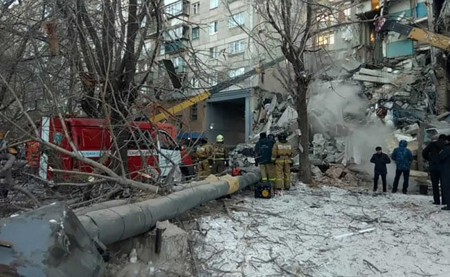 18 Dead In Russia Gas Explosion, Rescuers Pull More Bodies From Rubble
