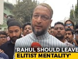 Video : Renaming Hyderabad Wild Desire Of Frustrated People: Asaduddin Owaisi