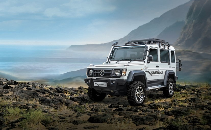 Force Gurkha Xtreme is the new top-of-the-line variant of the popular off-road SUV Gurkha