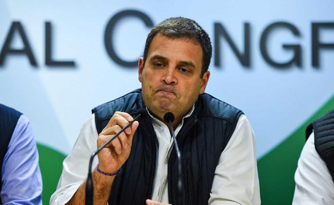 PM Modi Paid Dassault, But Refuses To Pay HAL: Rahul Gandhi