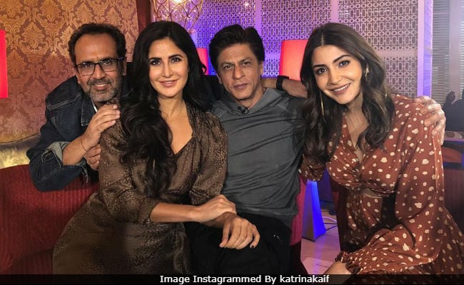 Zero: Shah Rukh Khan, Katrina Kaif, Anushka Sharma And Aanand L Rai In Some Happy Pics