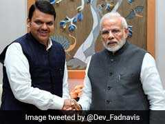 Devendra Fadnavis Meets PM, Briefs Him On Maharashtra Drought Situation