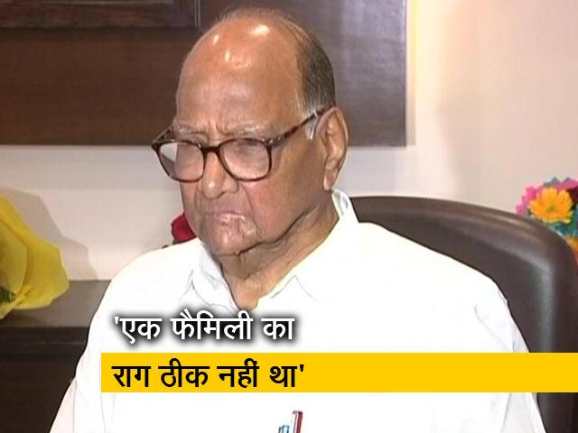 Videos : निजी हमले करना सही नहीं: शरद पवार