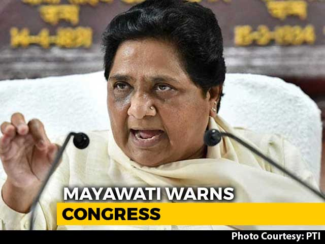 "Video : ""Will Reconsider Support"": Mayawati Spells Out A Condition For Congress"