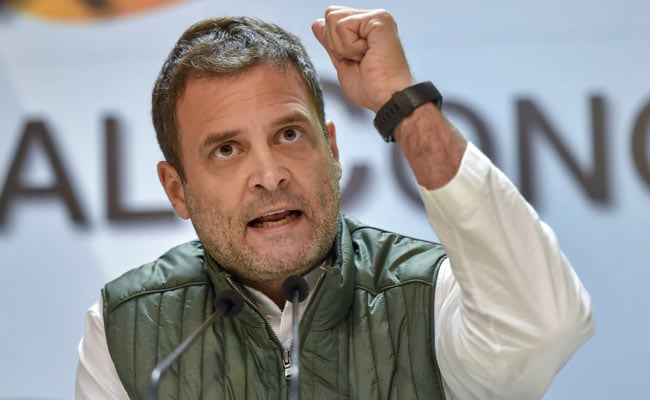 Now PM Using Congress's 'Grand Stupid Thought': Rahul Gandhi's Dig On GST