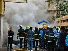 Major Fire At Commercial Complex In Mumbai, 12 Firefighters Injured