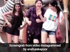 Janhvi, Anshula And Khushi Kapoor Are Having A Blast In Singapore. Seen The New Video?