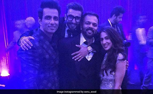 Ahead Of Simmba Trailer, This Pic Of Ranveer Singh, Sara Ali Khan From Mumbai Reception Will Make Your Day