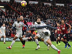Mohamed Salah Hat-Trick Sends Liverpool Top Of Premier League
