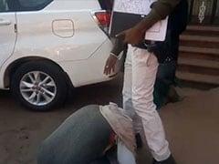 Why This Farmer Fell At Madhya Pradesh Official's Feet