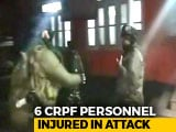 Video : 6 CRPF Men, 1 Cop Injured In Grenade Attack In J&K's Anantnag