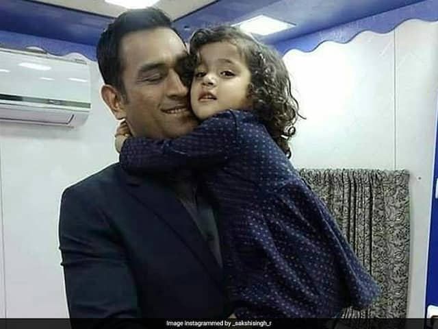 """Watch: """"I Stay In Bus, Dont Have House,"""" MS Dhoni Tells A Young Fan"""