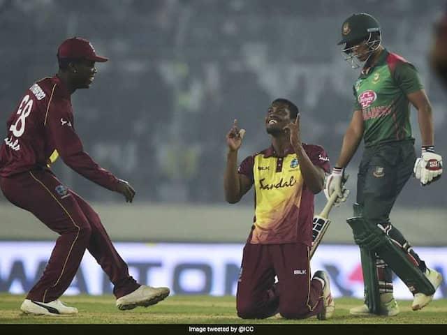 Keemo Paul, Evin Lewis Hand Windies T20I Series Win Against Bangladesh