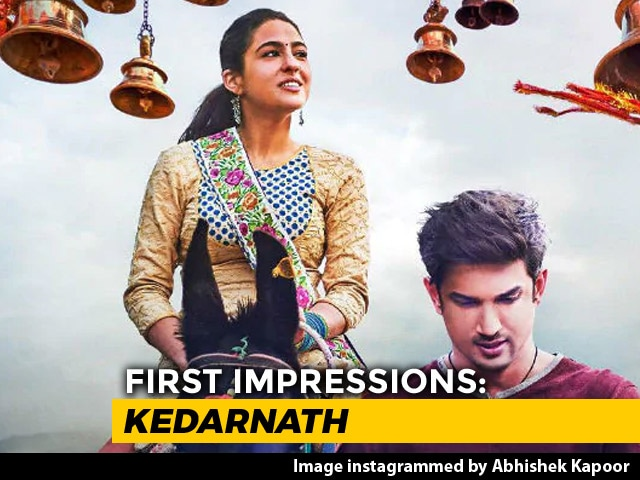 First Impressions Of Sara Ali Khan's Kedarnath