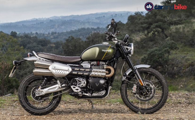Triumph Scrambler 1200 XC will be the only variant that will be coming to India