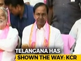 Video : KCR To Take Oath As Telangana Chief Minister Today