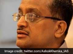 """You'll Trample Me Under Your Feet"": Bureaucrat Ashok Khemka On Transfer"