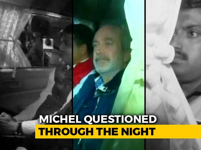 "Video : VVIP Chopper ""Middleman"" Christian Michel In Delhi Court Today"