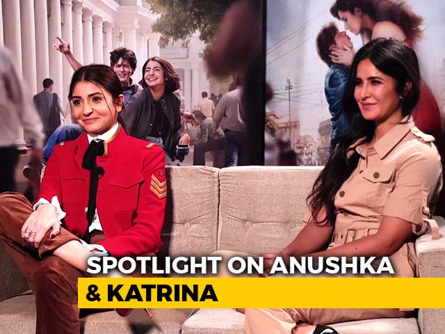 Video : Spotlight: Catching Up With Anushka Sharma & Katrina Kaif
